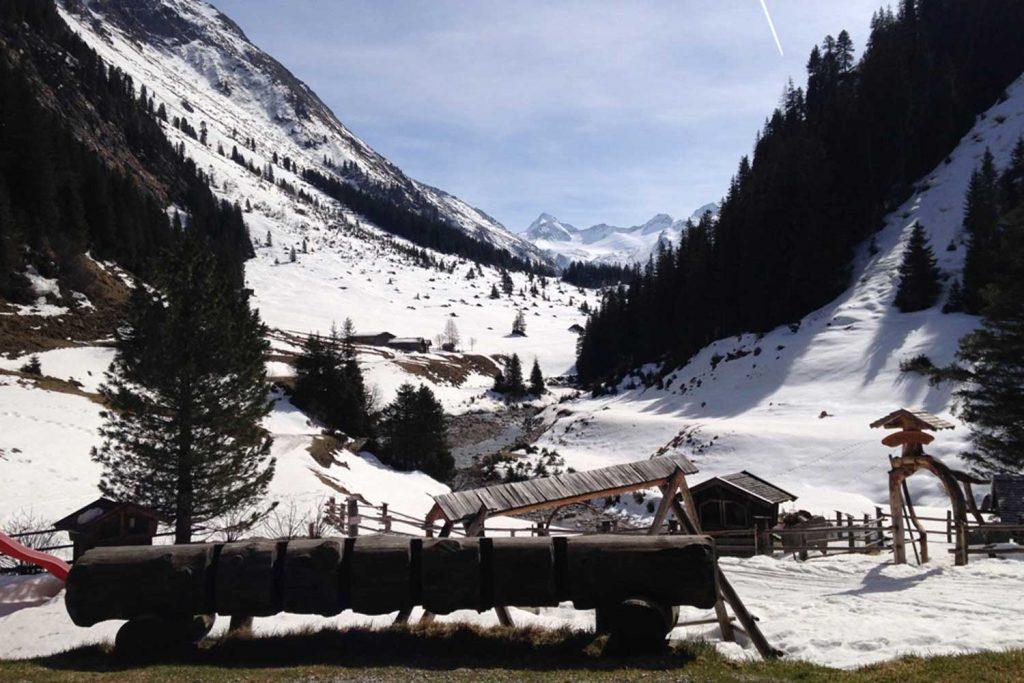 Großvenediger-über-die-Kürsinger-Hütte---Obersulzbachtal-bei-der-Berndlalm