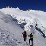 Haute-Route-Chamonix-Zermatt---Abfahrt-über-den-Trient-Gletscher