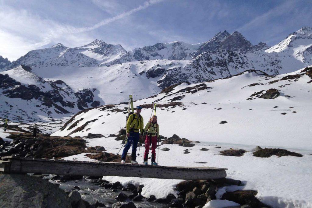 Haute-Route-Chamonix-Zermatt---Blick-zum-Mont-Velon