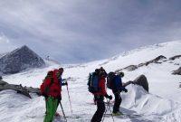 Skiroute-Hoch-Tirol---Am-Ersten-Keesboden-mit-Blick-zum-Rainerhorn