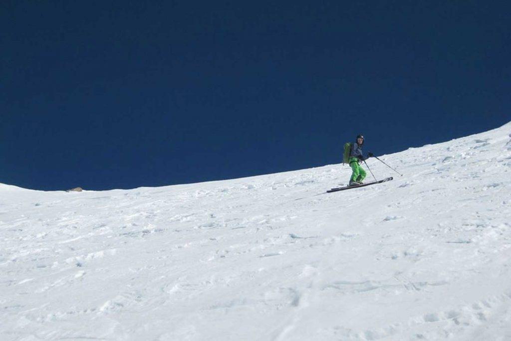 Skitour-Ötztaler-Wildspitz---Abfahrt