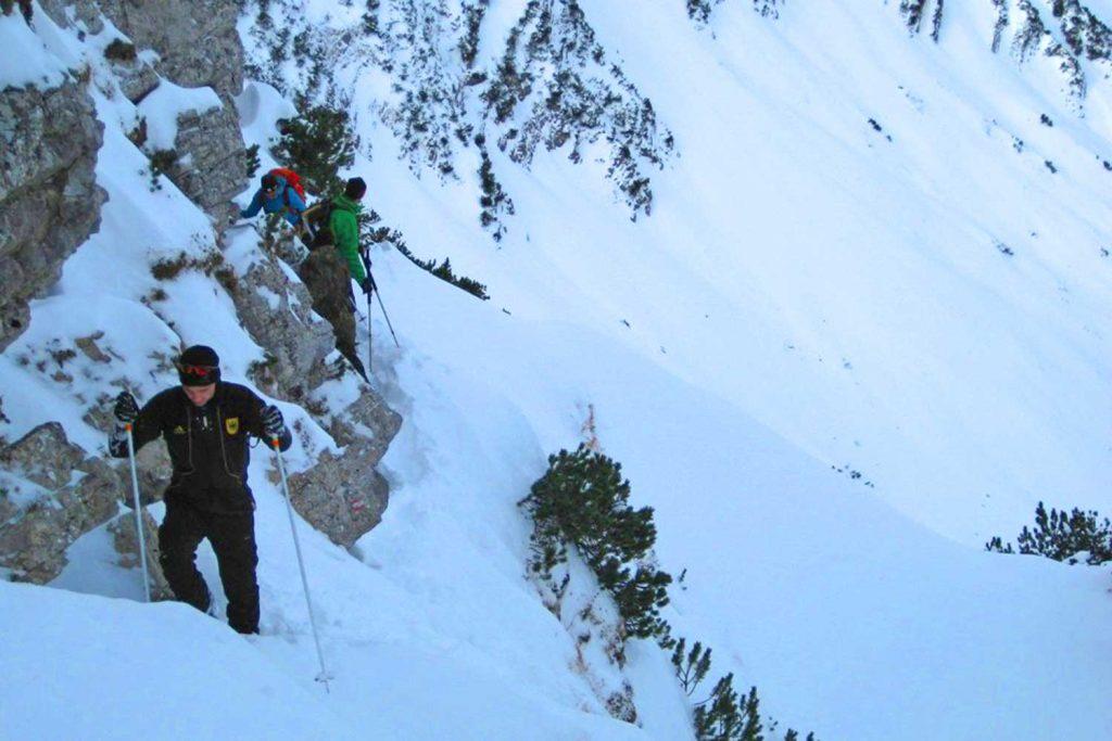 Skitour-Bayernduett-Teil-1---Anstieg-zur-Aiplspitz