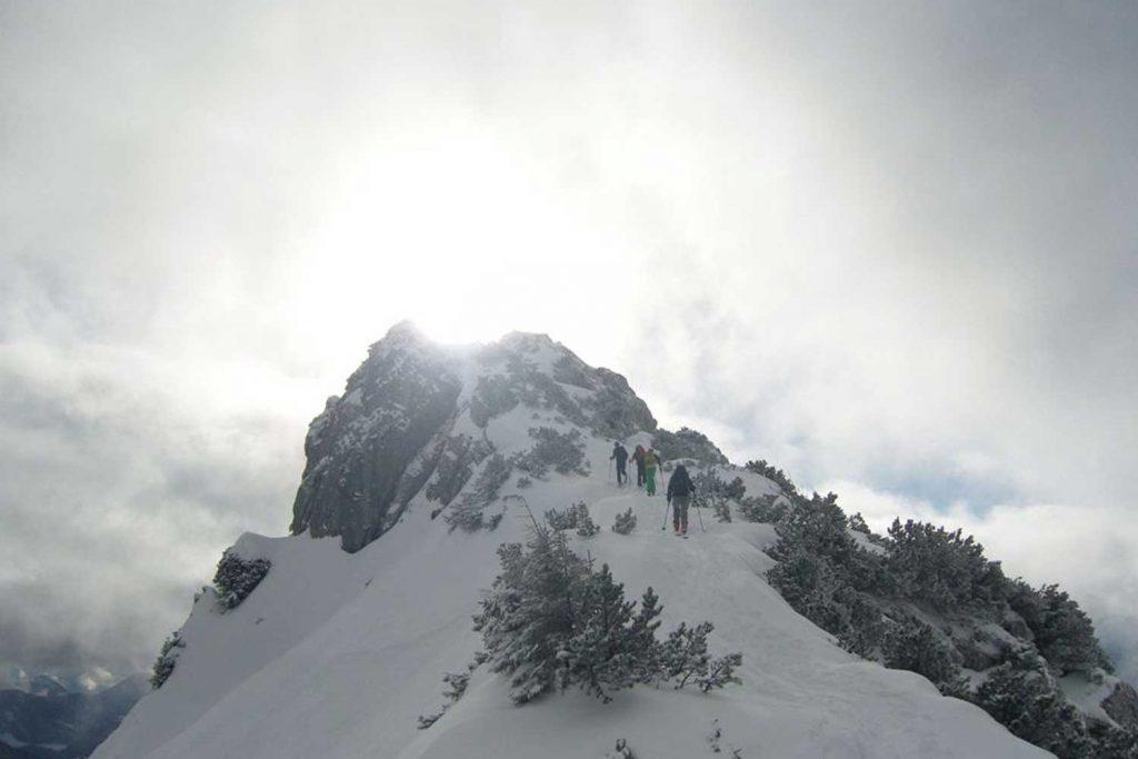 Skitour-Bayernduett-Teil-1-Anstieg zur Lacherspitz