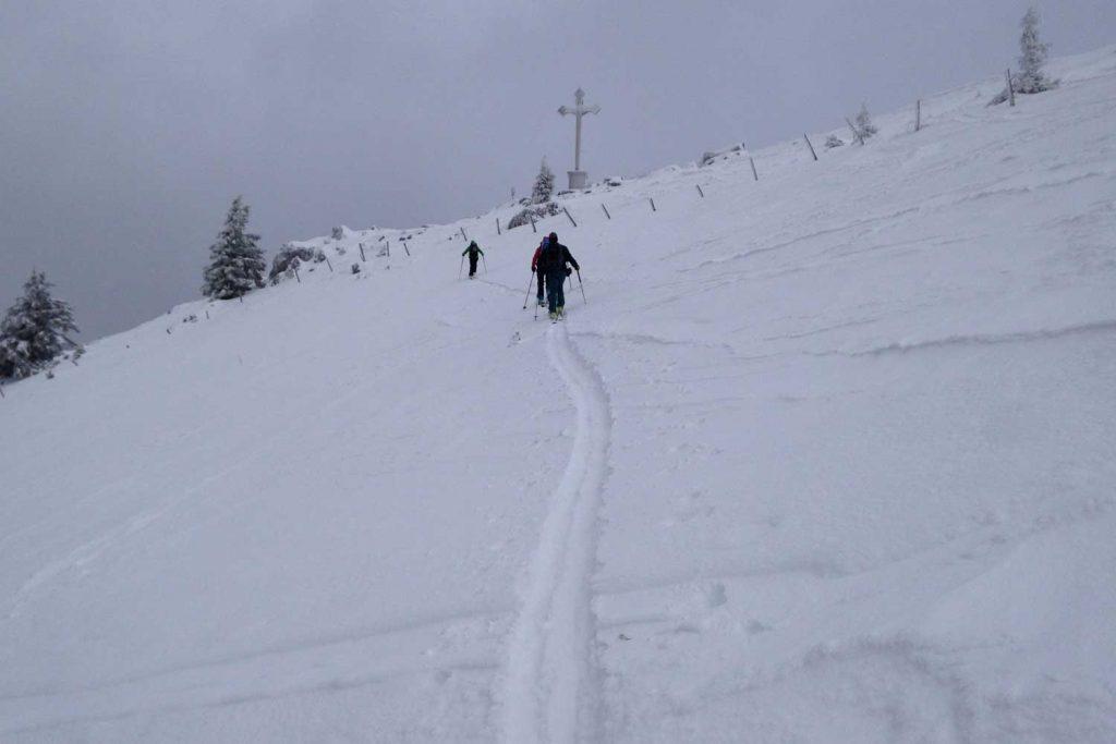 Skitour-Bayernduett-Teil-2----Bodenschneid-Gipfel