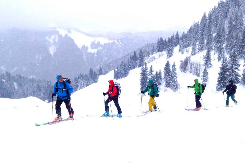 Skitour-Bayernduett-Teil-2----Chiemgauer-Alpen-Anstieg-zum-Feichteck