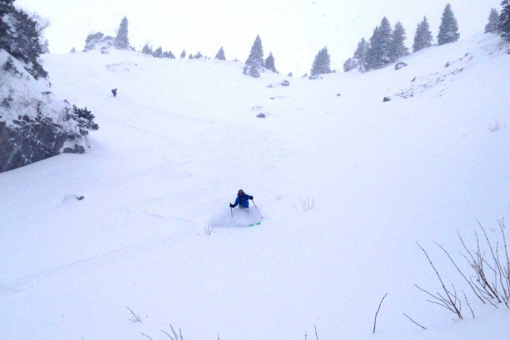 Skitour-Bayernduett-Teil-2----Wendesletingebiet-Abfahrt-im-Gschwandt