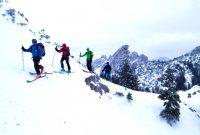 Skitour-Bayernduett-Teil-2----beim-Rotwandhaus-mit-Blick-zu-den-Ruchenköpfen