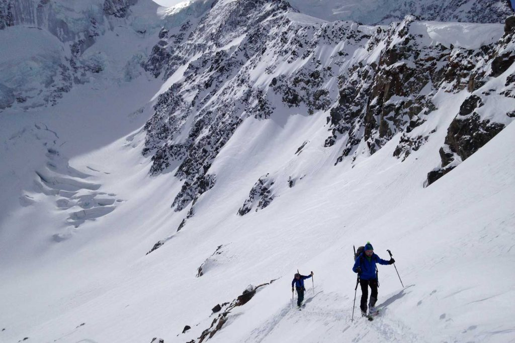 Skitour-Piz-Palü---Anstieg-zur-Gemsfreiheit