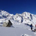 Skitour-Piz-Palü---Blick-zum-Piz-Bernina-mit-Biancograt