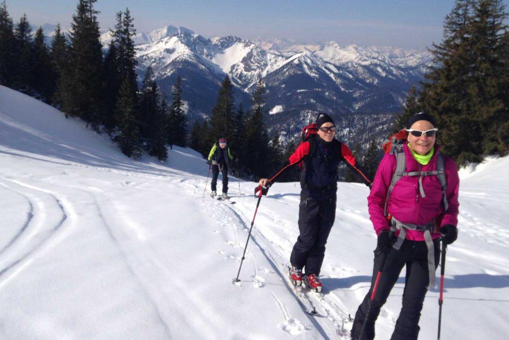Skitour-für-Einsteiger-im-Spitzingseegebiet---Rotwand-Reib´n