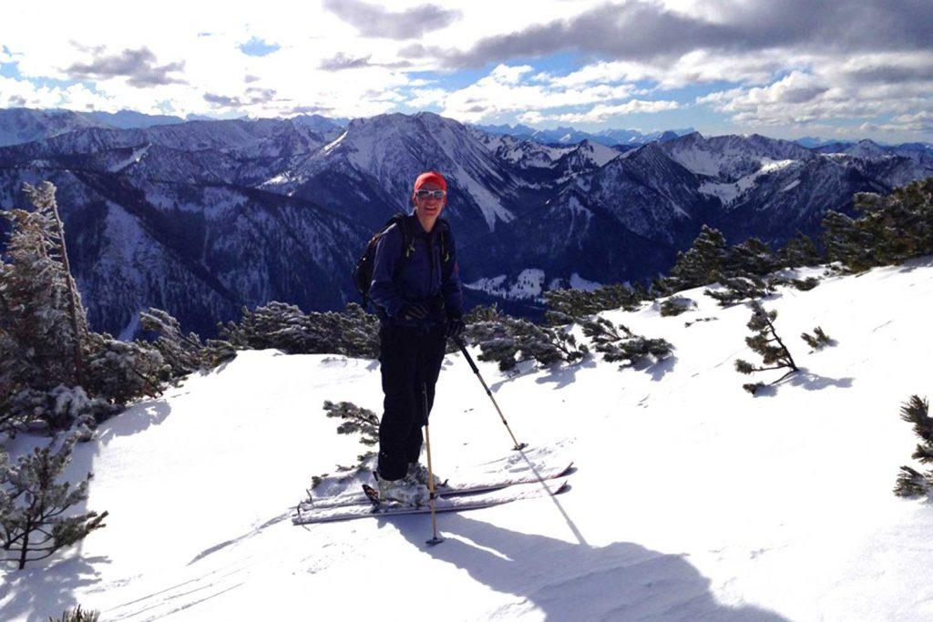 Skitour-für-Einsteiger-im-Wendelsteingebiet---Aufstieg-zur-Lacherspitz