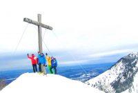 Skitour-für-Einsteiger-in-den-Chiemgauer---Feichteck-Gipfel