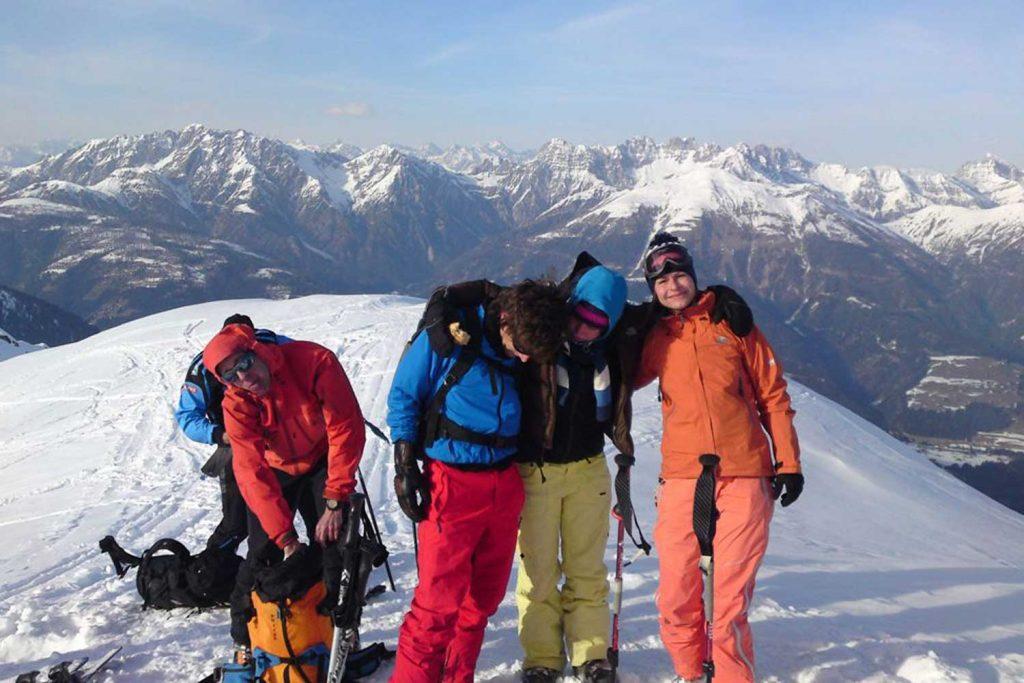 Skitouren-im-Lesachtal---Gipfelglück
