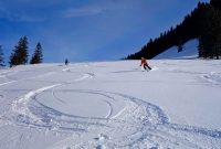 Skitourenkurs-für-Einsteiger---Abfahrt-Brünnsteinschanze