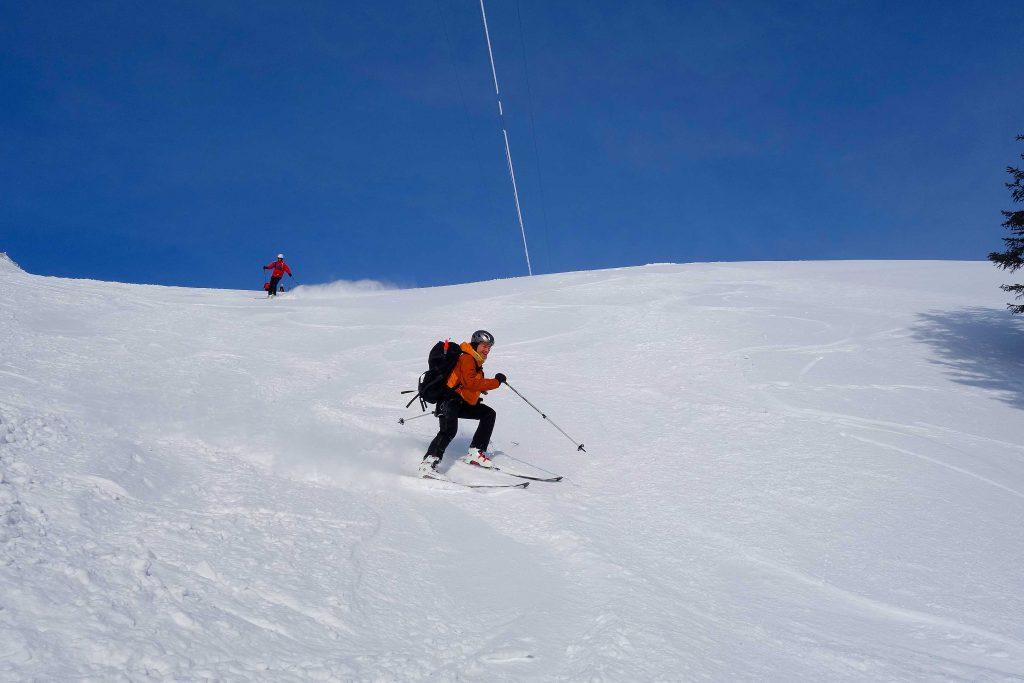 Skitourenkurs-für-Einsteiger---Abfahrt-Lacherkar