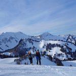 Skitourenkurs-für-Einsteiger---Aufstieg-zur-Brünnsteinschanze