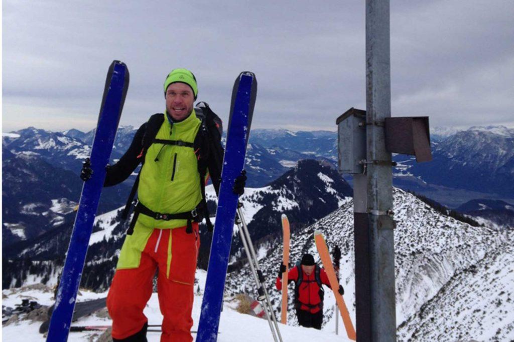 Skitourenkurs für Einsteiger - Großer Thraiten Gipfel