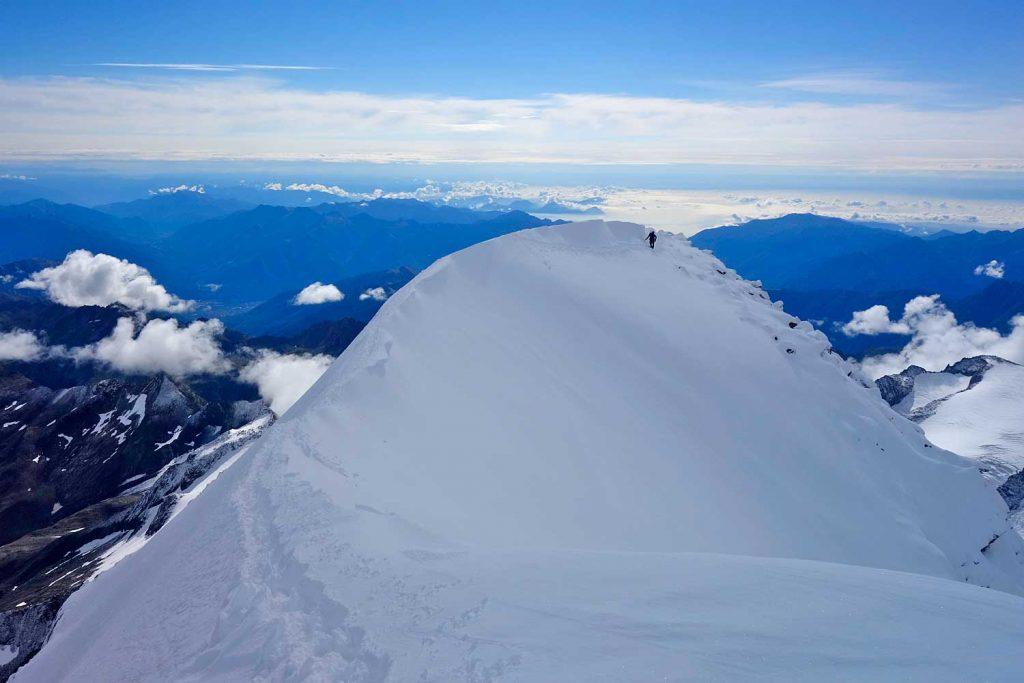 4000er-für-Einsteiger---Gipfelgrat-Weissmiess