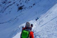 4000er-für-Einsteiger---Querung-der-Eisflanke-Weissmiess-im-Abstieg