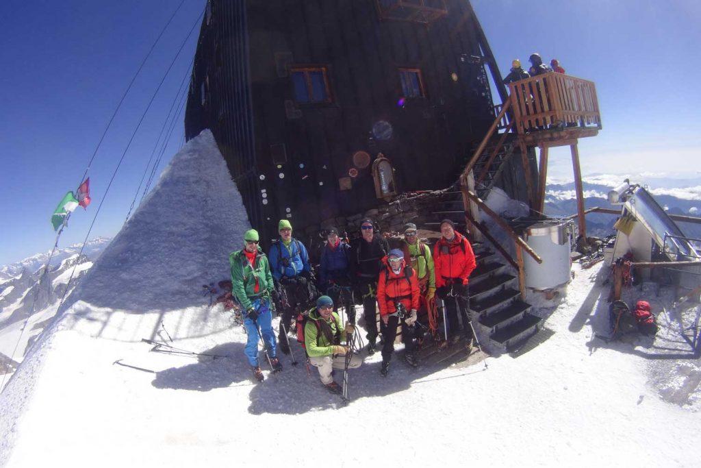 4000er im Wallis Monte Rosa Cabanna Margaritha