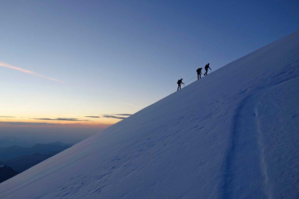 4000er-im-Wallis-Monte-Rosa---Gipfelanstieg-Vincent-Pyramide