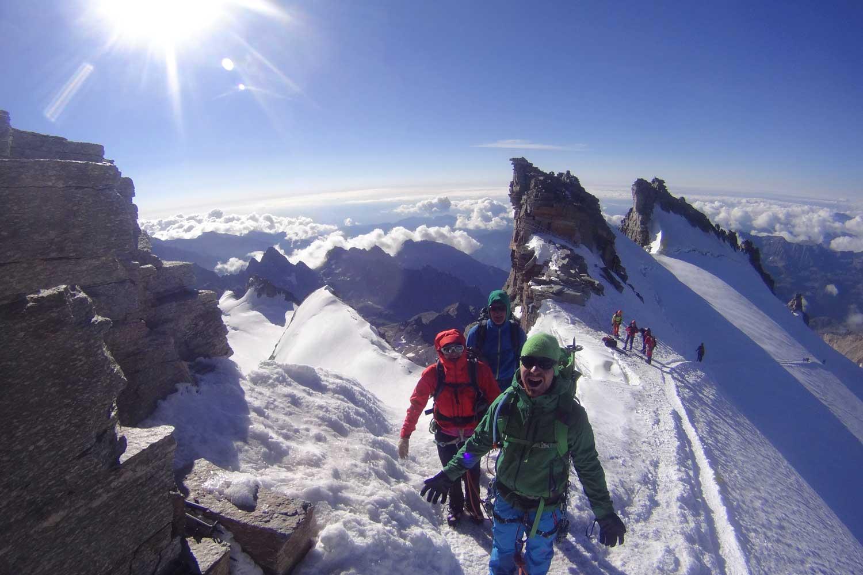 4000er im Wallis Monte Rosa Gran Paradiso