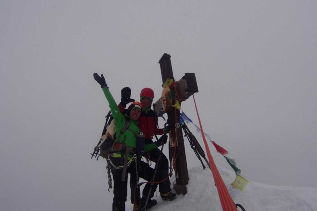 Großglockner-über-den-Stüdlgrat-Gipfelglück