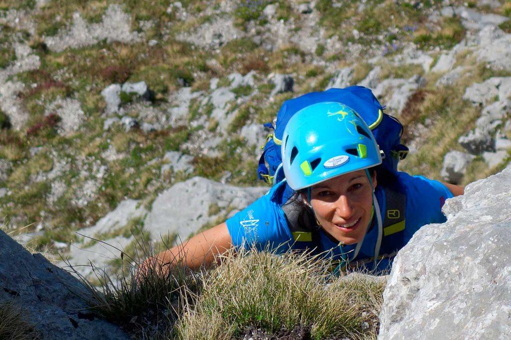 Klettern-an-der-Kampenwand---Südwand-Hauptgipfel