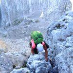 Klettern-auf-den-Spuren-von-Hans-Dülfer---Fleischbank-Ostwand-Ausstiegsrisse