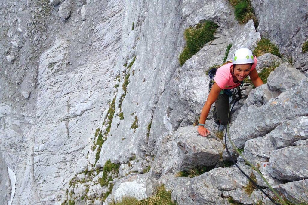 Klettern-auf-den-Spuren-von-Hans-Dülfer---Fleischbank-Ostwand-Im-Mittelteil