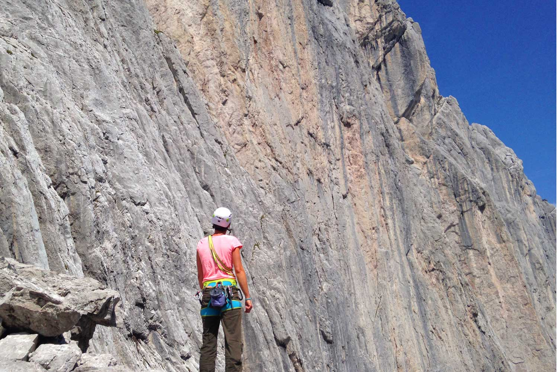 Klettern-auf-den-Spuren-von-Hans-Dülfer---Fleischbank-Ostwand