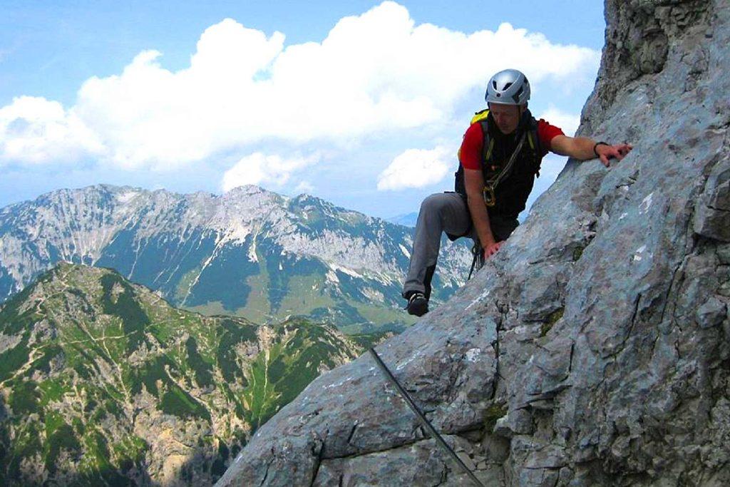 Klettern-im-Wilden-Kaiser---Gourmettage-Predigtstuhl-Nordkante