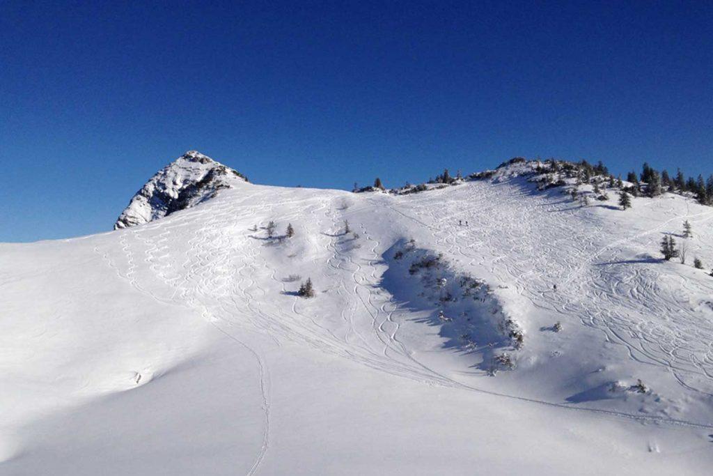 Schneeschuhtour-Jägerkamp---Anstieg-zur-Aiplspitz