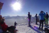 Schneeschuhtour-Rund-um-den-Spitzingsee---Am-Bodenschneid-Gipfel