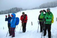 Schneeschuhtour-zum-Sonntagshorn---Eine-verdiente-Pause