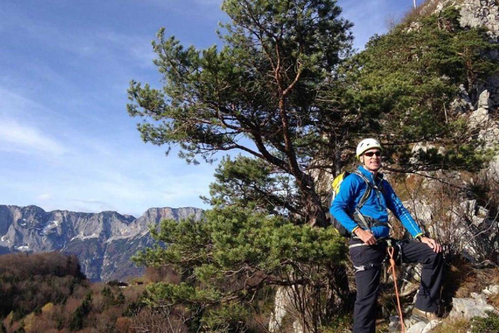 Schnuppertag-Felsklettern---Gratkletterei