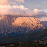 Wandern-auf-einfache-3000er-in-Südtirol---Blick-in-die-Dolomiten