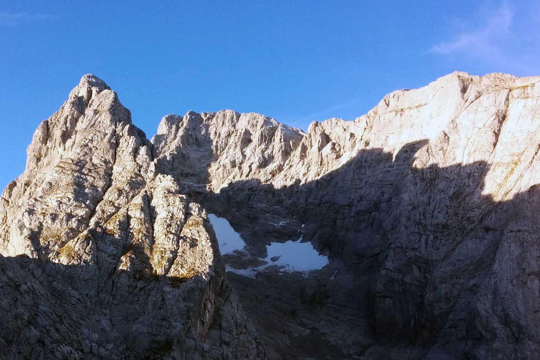 Wanderung-Durchquerung-der-Berchtesgadener-Alpen---Eisbodenscharte