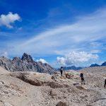 Wanderung-Ehrwalder-Alm-Gatterl-Zugspitze---Am-Zugspitzplatt-mit-Blick-zum-Brunntalkopf