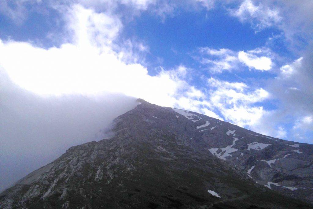 Wanderung - Watzmann König der Berchtesgadener - Blick zum Hocheck