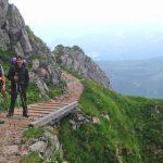 Wanderung - Watzmann König der Berchtesgadener - Brücke vorm Watzmannhaus