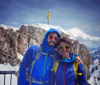 Wanderung-durchs-Reintal-auf-die-Zugspitze---Am-Zugspitz-Gipfelplateau