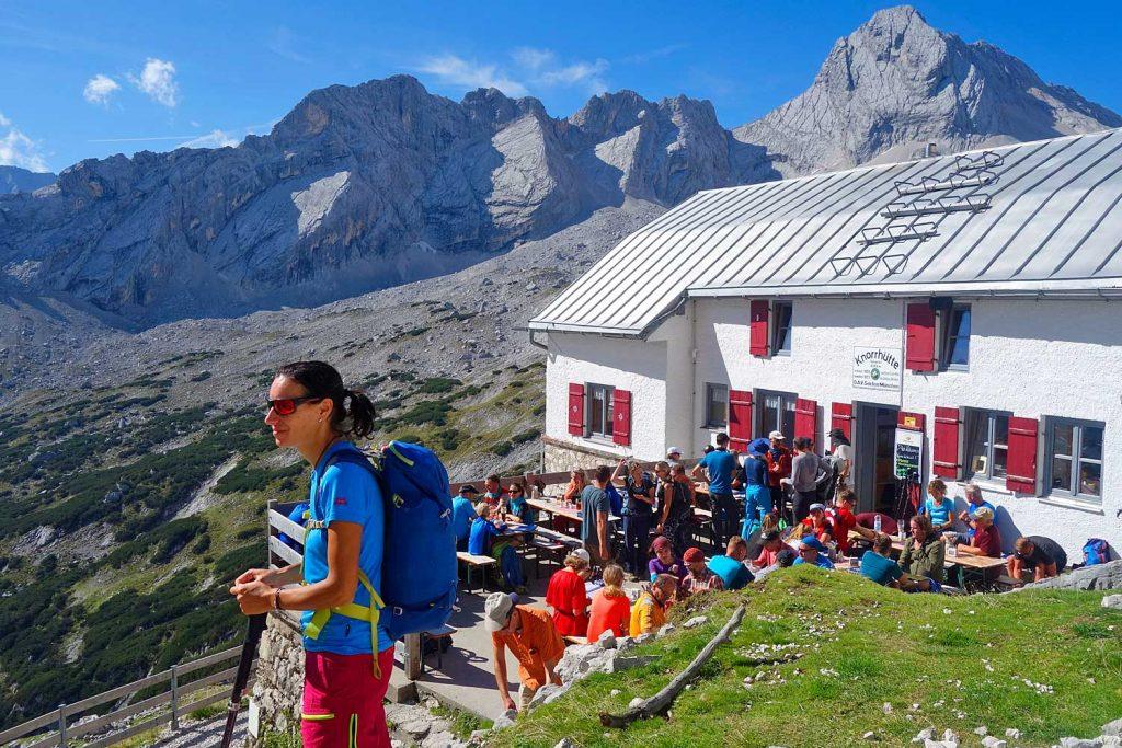 Klettersteig Zugspitze Schwierigkeitsgrad : Geführte wanderung durchs reintal auf die zugspitze bms bergschule