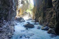 Wanderung-durchs-Reintal-auf-die-Zugspitze---Ende-der-Partnachklamm
