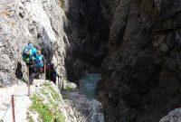 Wanderung-in-4-Tagen-durchs-Wetterstein--Höllentalklamm