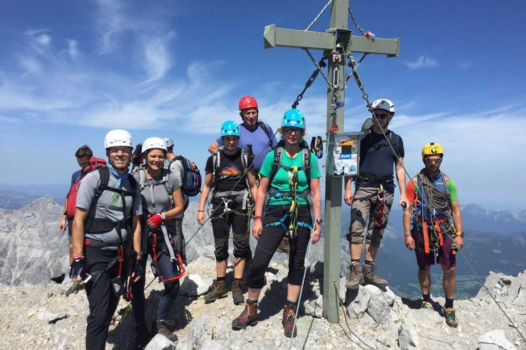 Watzmannüberschreitung---Gipfel-Südspitze