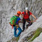 Watzmann-Ostwand---Kurz-vor-der-Gipfelschlucht