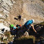 Alpspitz-Klettersteig---Nordwand-Ferrata---An-der-Leiter