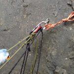 Bergrettung-Schleifknoten