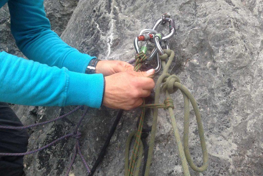 Bergrettung-Seilverlängerung